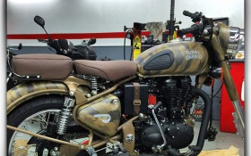 ROYAL ENFIELD CAMOUFLAGE