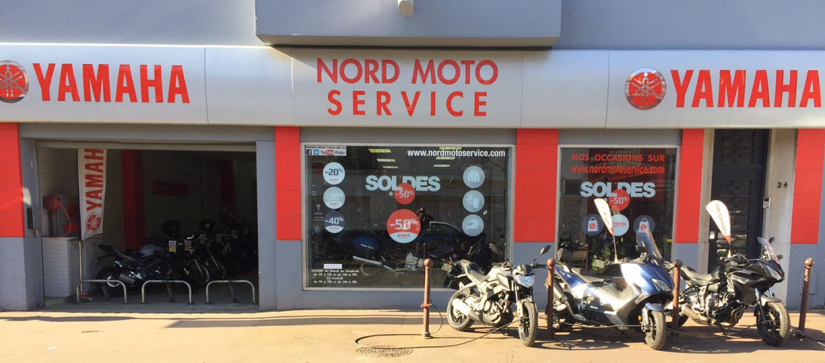 Nord Moto Service Concessionnaire YAMAHA TOURCOING 59